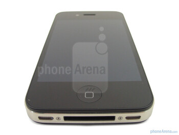 Front - The sides of the Apple iPhone 4 - Apple iPhone 4 Review