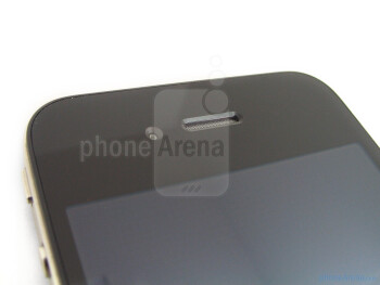 The 0.3-megapixelfront facing camera - The sides of the Apple iPhone 4 - Apple iPhone 4 Review