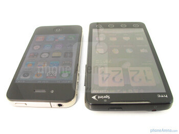 Apple iPhone 4 vs. HTC EVO 4G: side by side