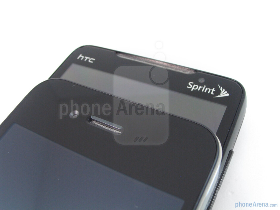 Apple iPhone 4 vs. HTC EVO 4G: side by side