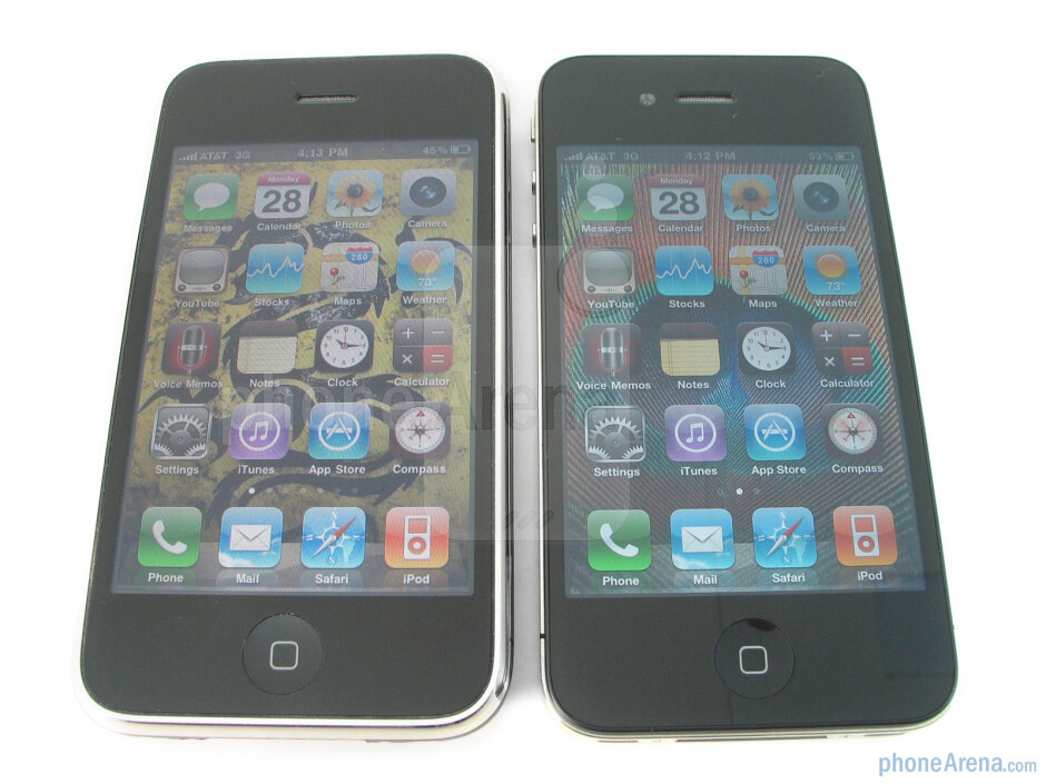 Apple iPhone 4 vs. iPhone 3GS: side by side