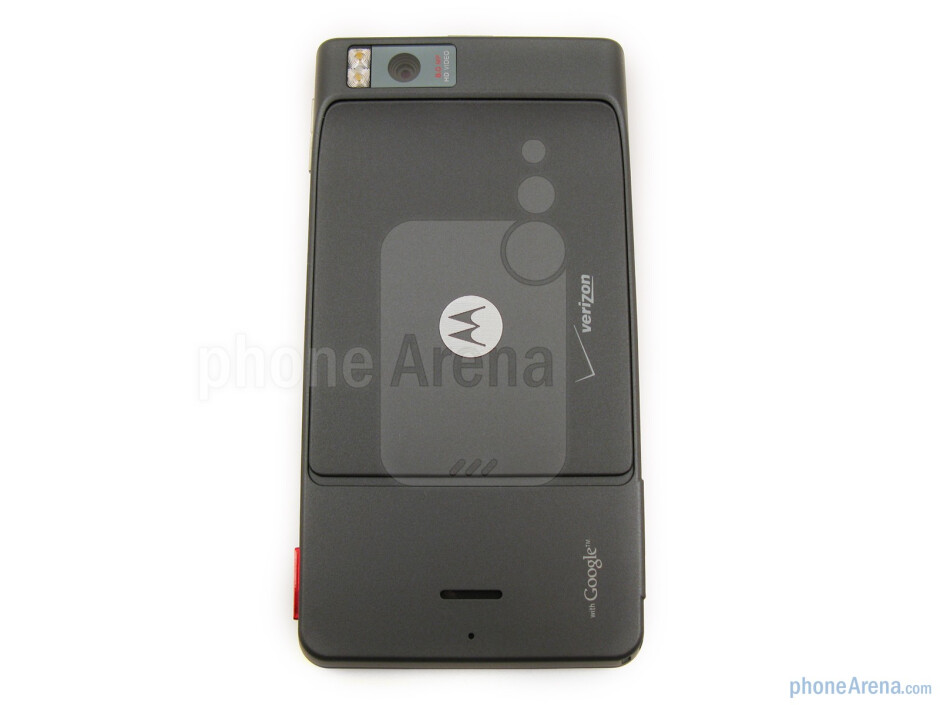 The Motorola DROID X MB810 balances well in the hand, neither top heavy nor bottom heavy - Motorola DROID X Review