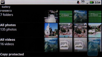 The Gallery app - Video playback - Motorola DROID X Review