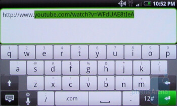 The on-screen keyboard of the HTC Droid Incredible is also quite responsive - Apple iPhone 4 vs. HTC Droid Incredible