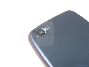 Camera - The sides of the LG Sentio - LG Sentio Review