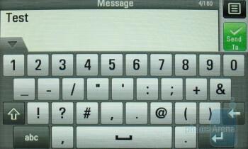 Messaging - LG Sentio Review