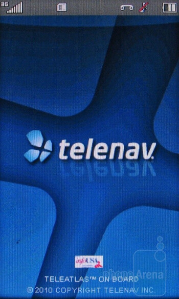 TeleNav GPS Navigator - LG Sentio Review