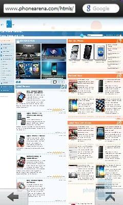 Opera Mobile 10 - GIGABYTE GSmart S1205 Review