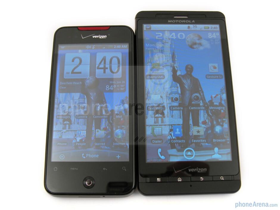 Motorola DROID X vs. HTC Droid Incredible