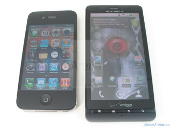 Both Motorola DROID X and Apple iPhone 4 are well build - Motorola DROID X vs. Apple iPhone 4