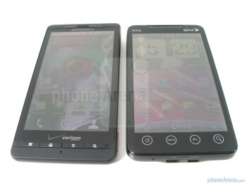 Motorola DROID X vs. HTC EVO 4G
