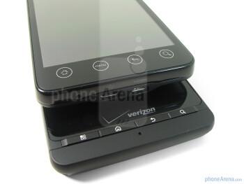 Motorola DROID X - bellow, HTC EVO4G - above - Motorola DROID X vs. HTC EVO 4G