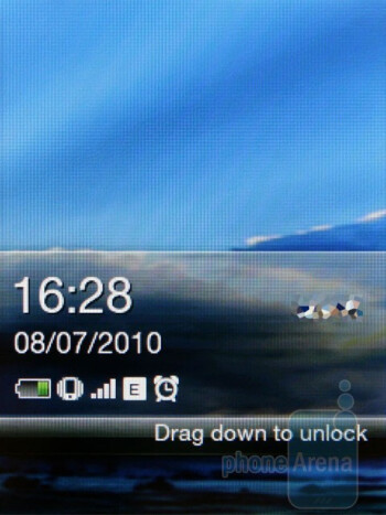 The HTC Smart is running a simplified version of HTC Sense - HTC Smart Review