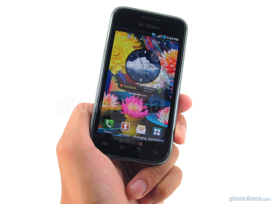 Construction-wise, the Samsung Vibrant feels solid enough all around - Samsung Vibrant Review