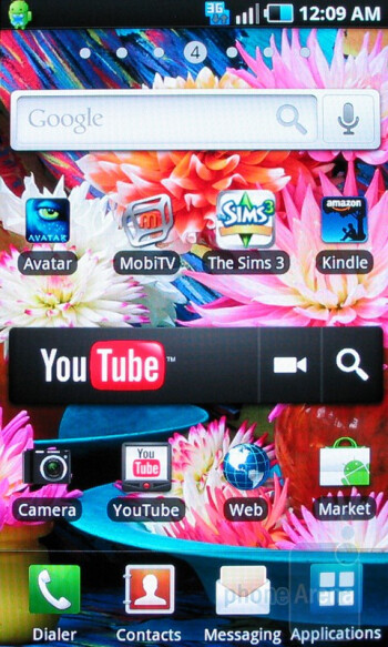 Samsung Vibrant runs Android 2.1 - Samsung Vibrant Review