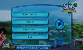 The Sims 3 Collector's Edition game - Samsung Vibrant Review