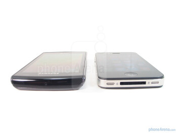 Samsung Captivate vs. Apple iPhone 4