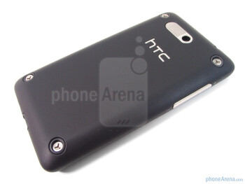 The back of the HTC Aria - HTC Aria Review