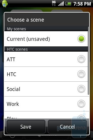 Scenes - HTC Aria Review