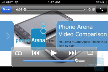 Samsung Captivate vs. Apple iPhone 4