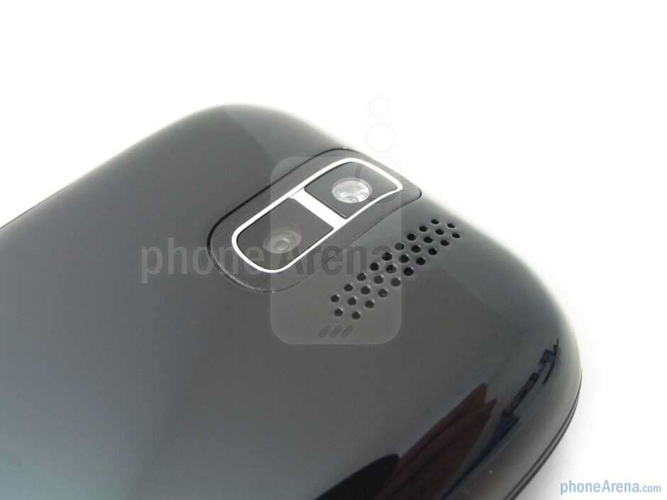 The 5-megapixel camera with LED flash is on the back - T-Mobile myTouch 3G Slide Review