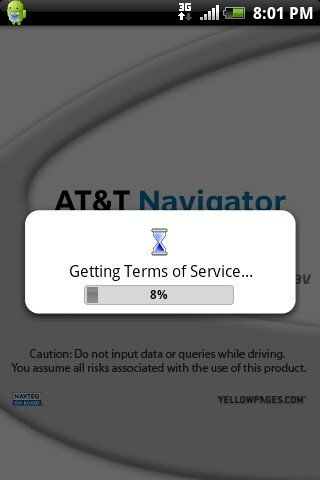 AT&T Navigator - HTC Aria Review