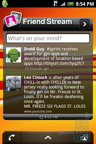 The T-Mobile myTouch 3G Slide presents you with 5 home screens - T-Mobile myTouch 3G Slide Review