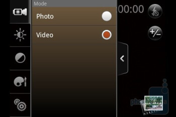 The camera interface - T-Mobile myTouch 3G Slide Review