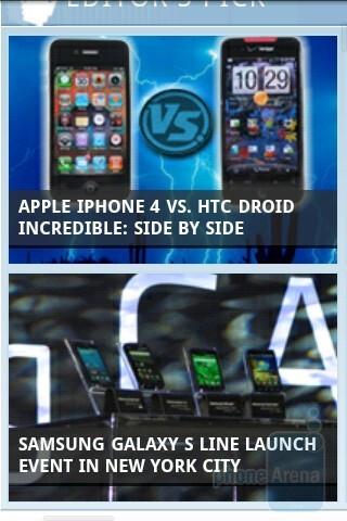 T-Mobile myTouch 3G Slide has a decent web browser - T-Mobile myTouch 3G Slide Review