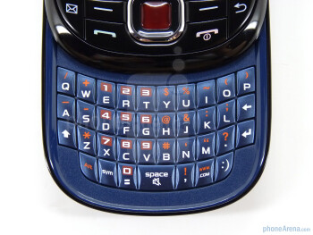 The keyboard of Samsung Smiley has a good feel - Samsung Smiley :) Review