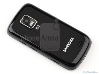 Samsung B7722 is a 14.3 mm thick device with an all-plastic  build - Samsung B7722 Review