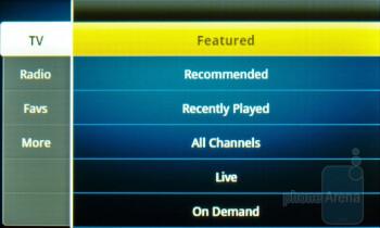 Sprint TV - Samsung Intercept Review