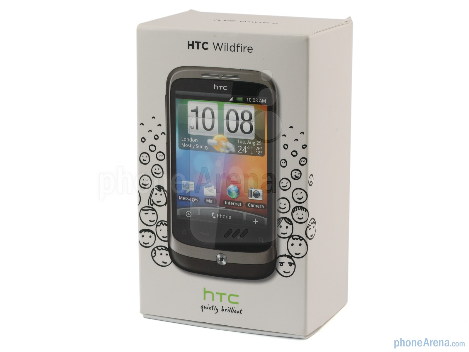 htc wildfire review. Black Bedroom Furniture Sets. Home Design Ideas