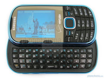 The keyboard of Samsung Intensity II isn't the best that we've used - Samsung Intensity II Review