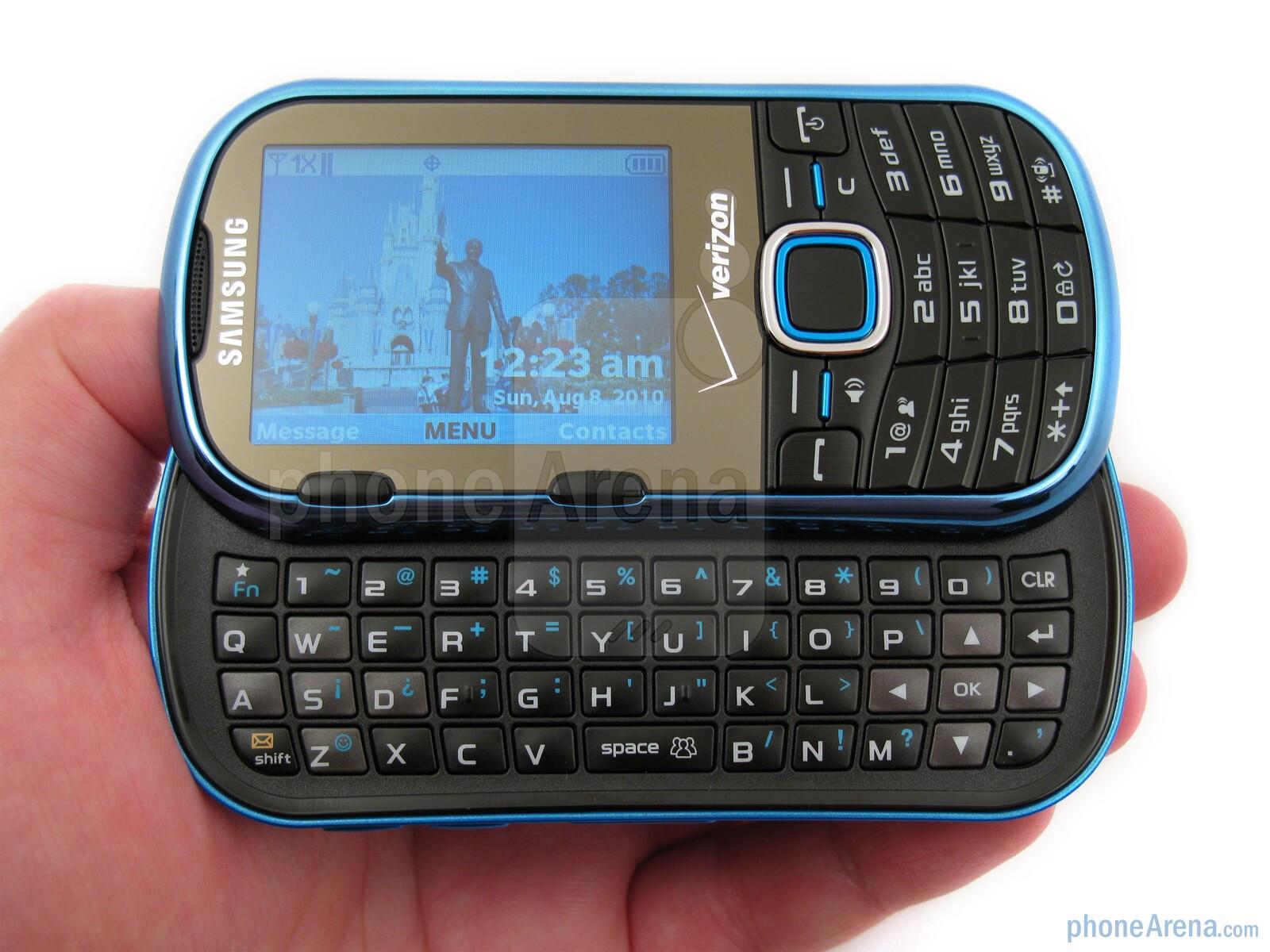samsung intensity ii review rh phonearena com Samsung Phones Samsung Razor Cell Phone