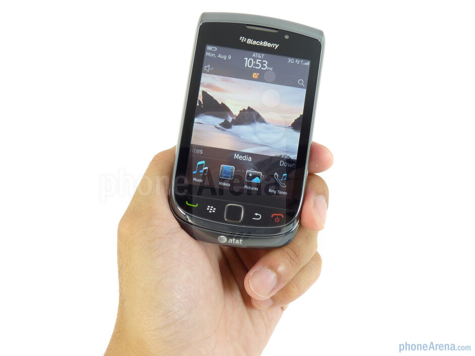 The RIM BlackBerry Torch 9800 is the first RIM device to employ a sliding portrait QWERTY form factor - RIM BlackBerry Torch 9800 Review
