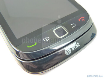 The sides of the RIM BlackBerry Torch 9800 - RIM BlackBerry Torch 9800 Review