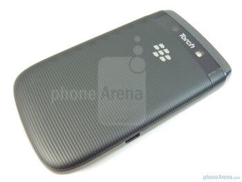 The back - RIM BlackBerry Torch 9800 Review