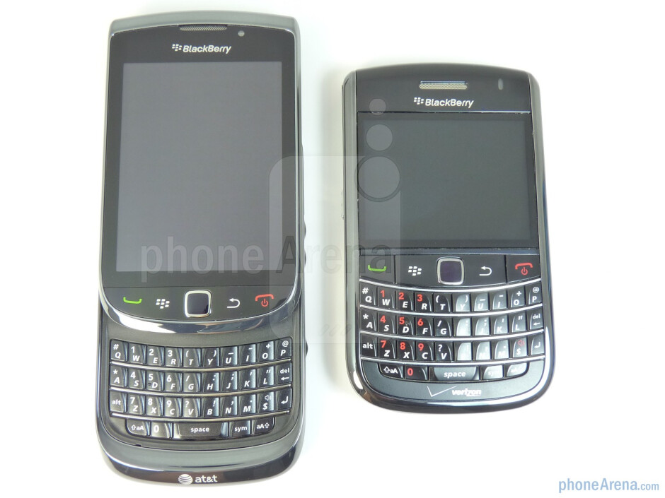 The QWERTY  clearly resembles the one found on the Bold 9650 - RIM BlackBerry Torch 9800 Review
