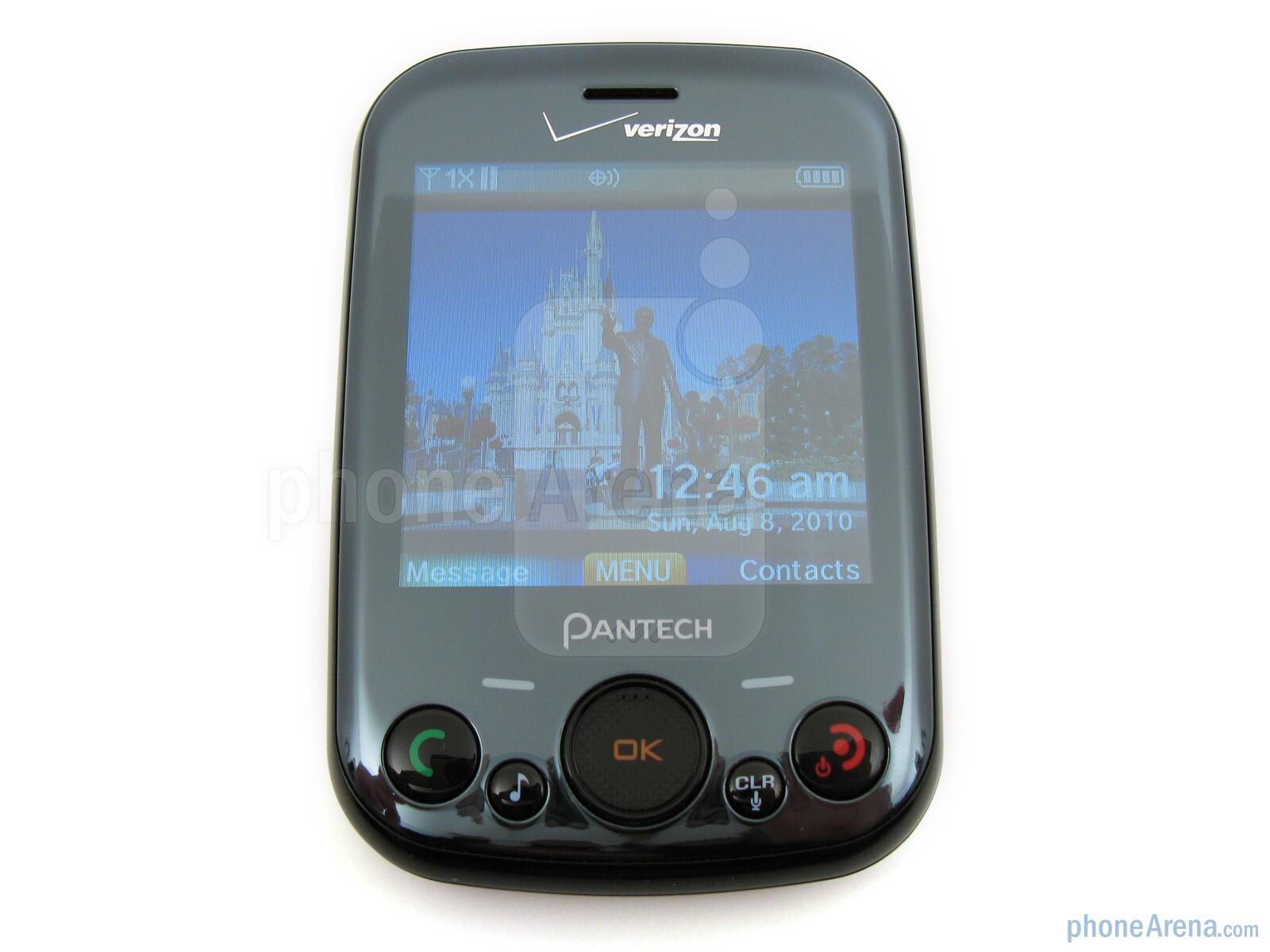 pantech jest review rh phonearena com AT&T Pantech Verizon Pantech
