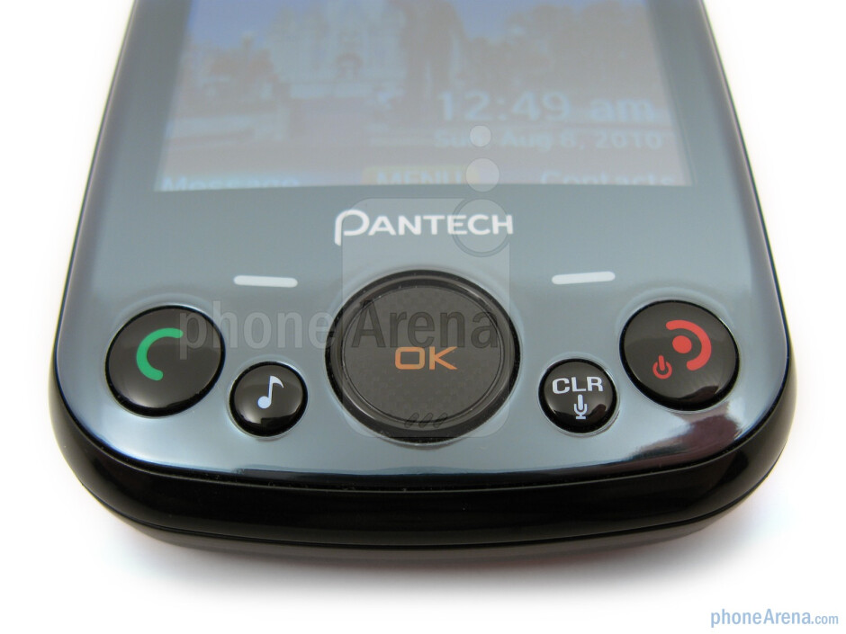 The sides of the Pantech Jest - Pantech Jest Review