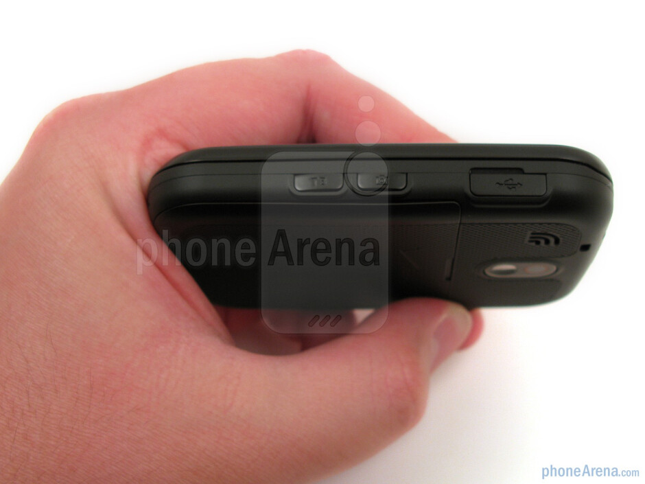 The Pantech Jest feels sturdy and it fits well in the hand and pocket - Pantech Jest Review
