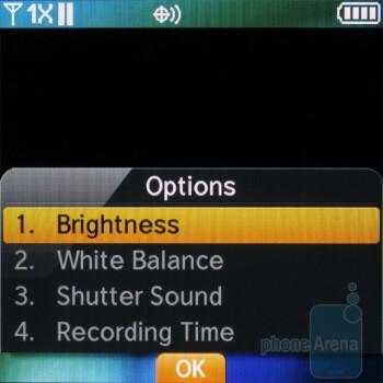Camera interface - Pantech Jest Review