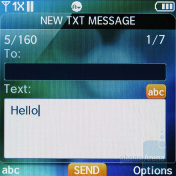 Messaging - Pantech Jest Review