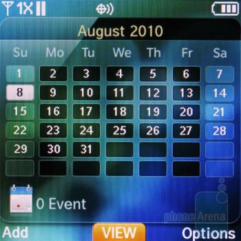 Calendar - VZ Navigator - Pantech Jest Review