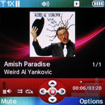 Music player - Pantech Jest Review