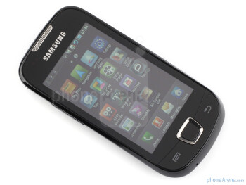 The sides of the Samsung Galaxy 3 - Samsung Galaxy 3 Review