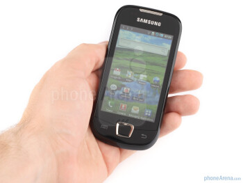 The plastic feels durable, and it is not slippery, thus making the Samsung Galaxy 3 comfortable to hold - Samsung Galaxy 3 Review