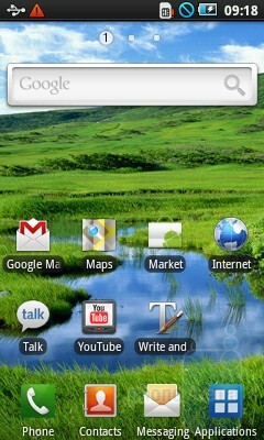 The interface of the Samsung Galaxy 3 - Samsung Galaxy 3 Review