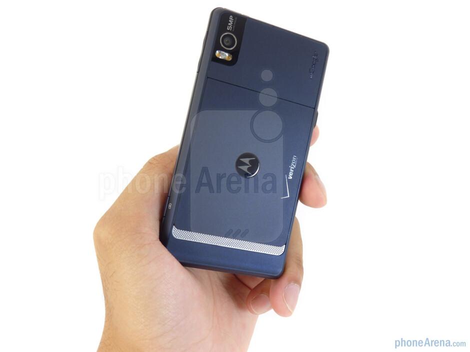 Motorola DROID 2 still retains that streamlined industrial design - Motorola DROID 2 Review